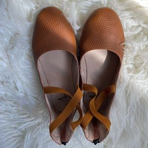 Weathered brown MF size 37 Ballet Flats